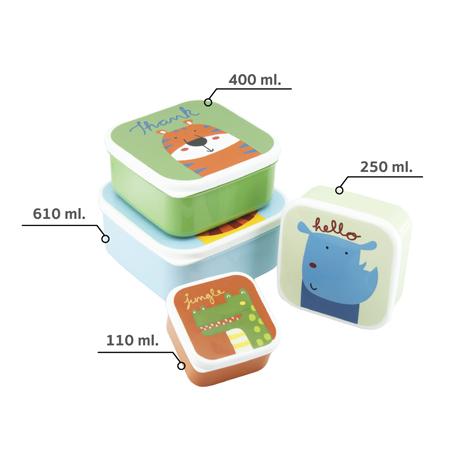 S4-N488 ชุดกล่องอาหาร 4 ใบ